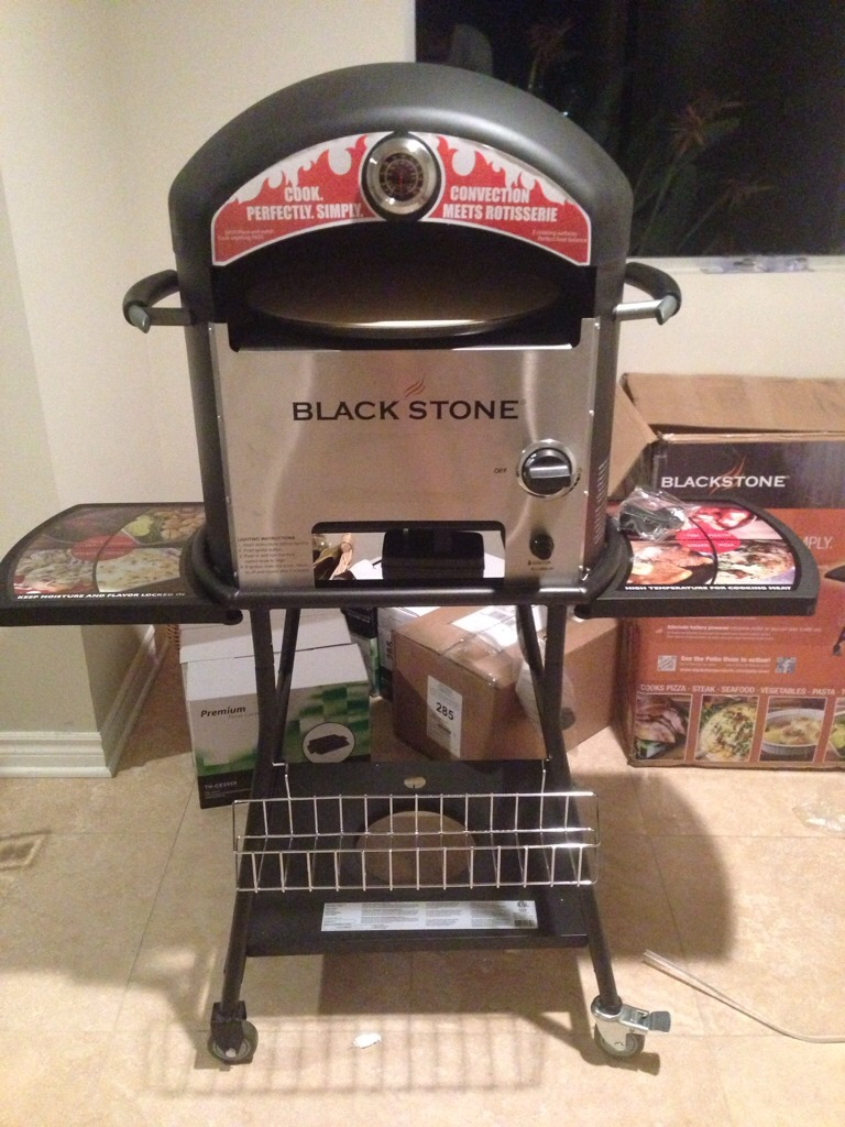 blackstone pizza oven blackstone 1575 outdoor pizza oven review 2016 29378